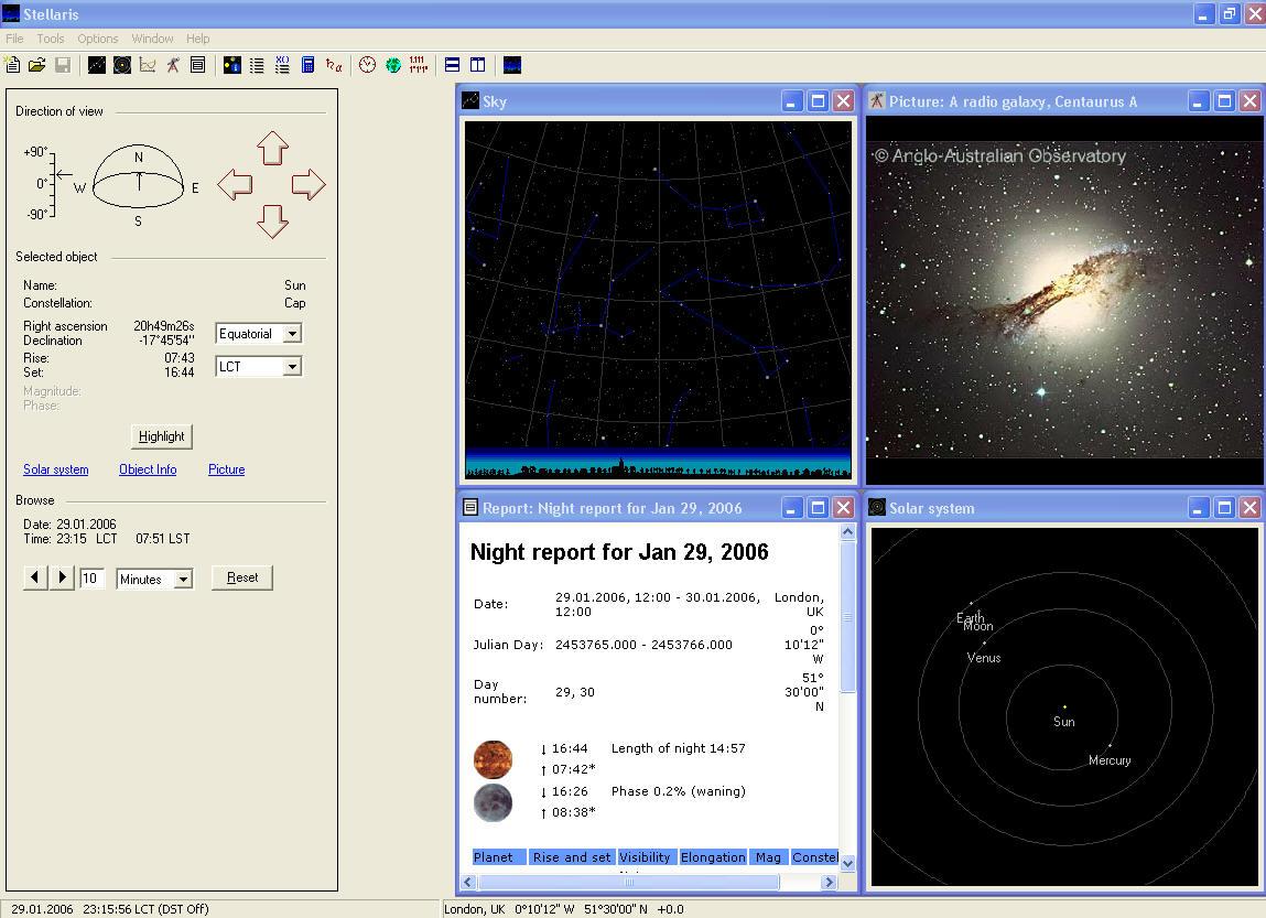 FREE Astronomy/Planetarium software